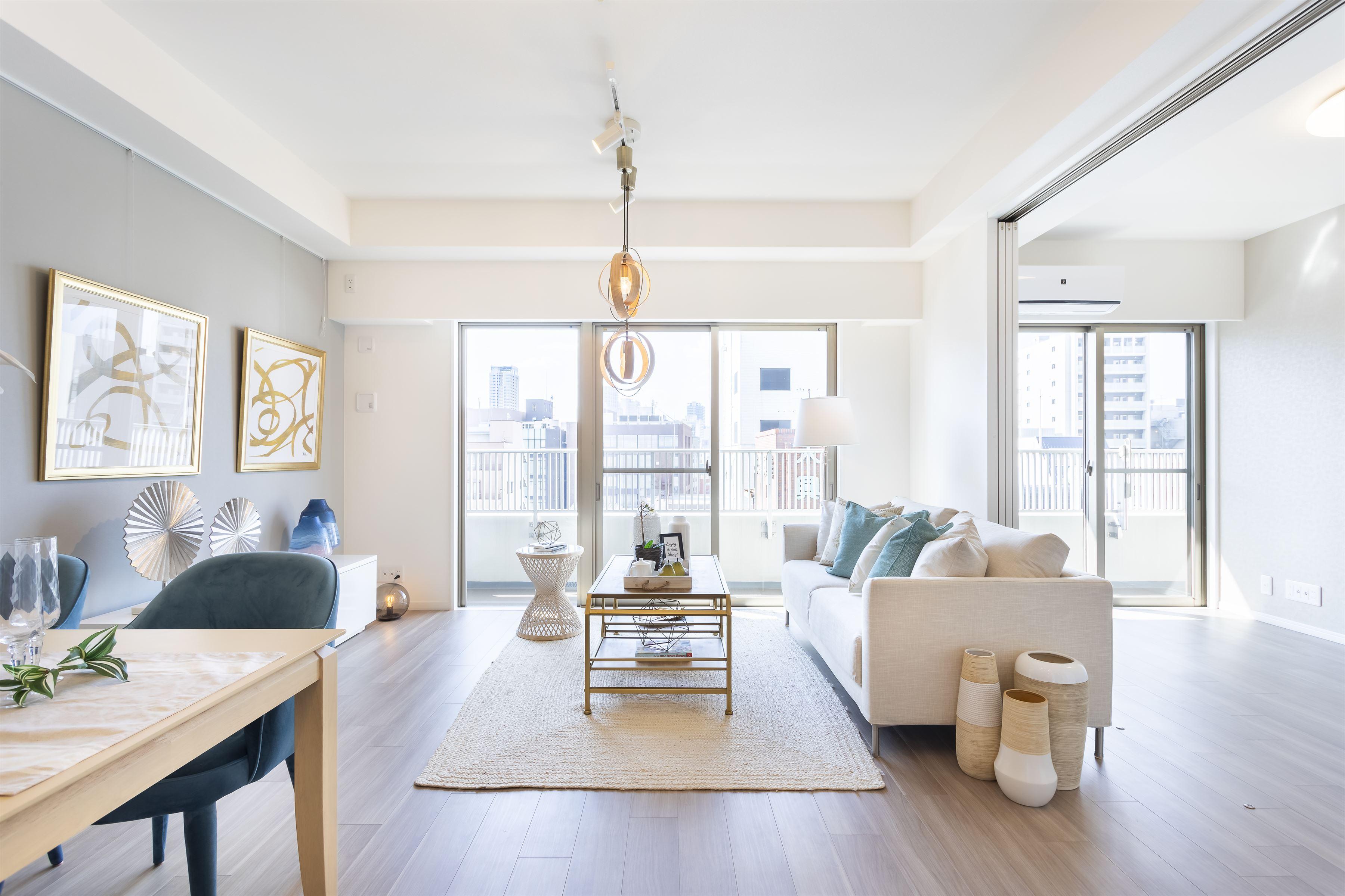 アクセスと住環境整った立地×グレイッシュな上質デザイン